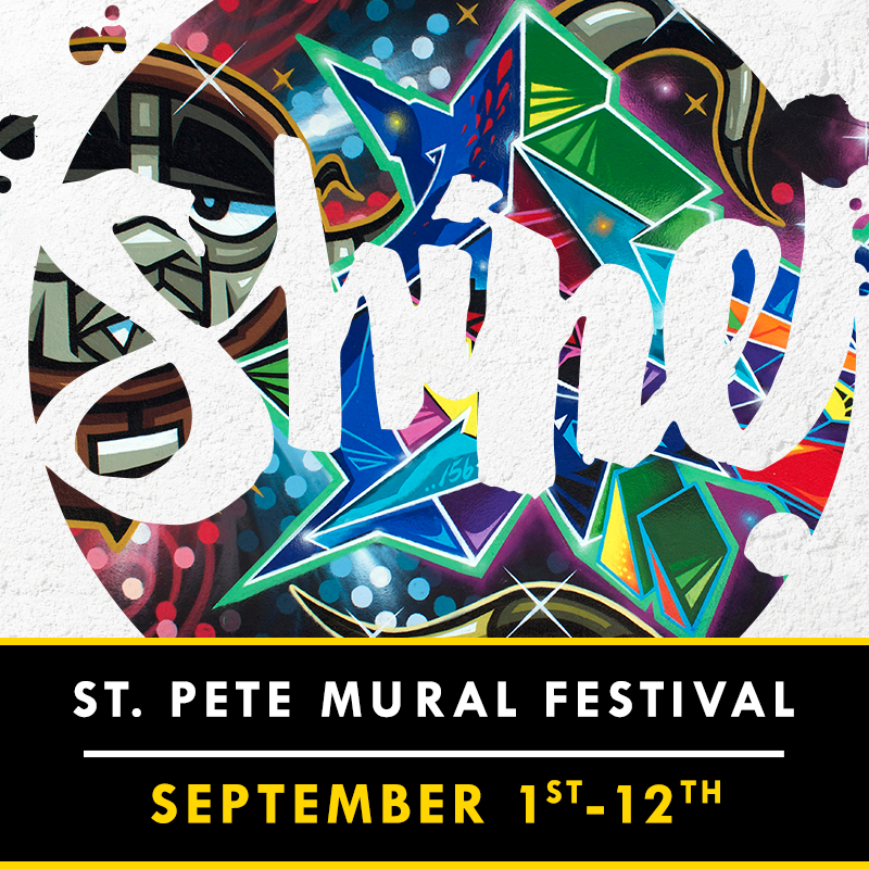 SHINE St. Pete Mural Festival September 1-12 2015