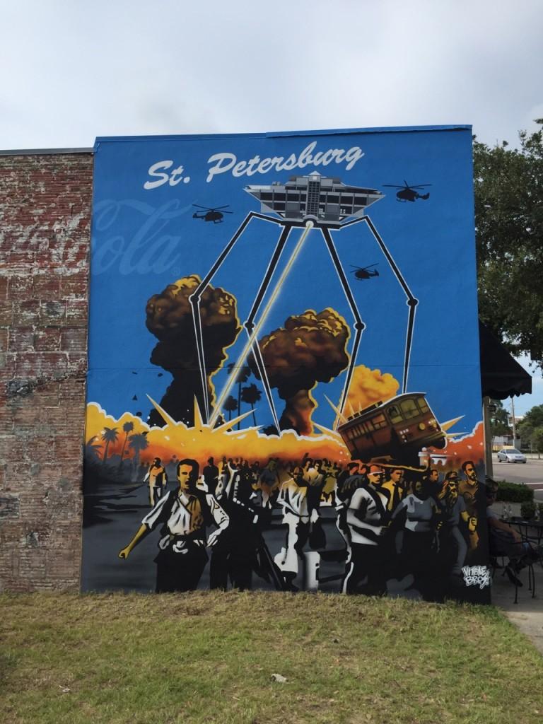Vitale Bros. Shine St. Pete Mural Fest 2015