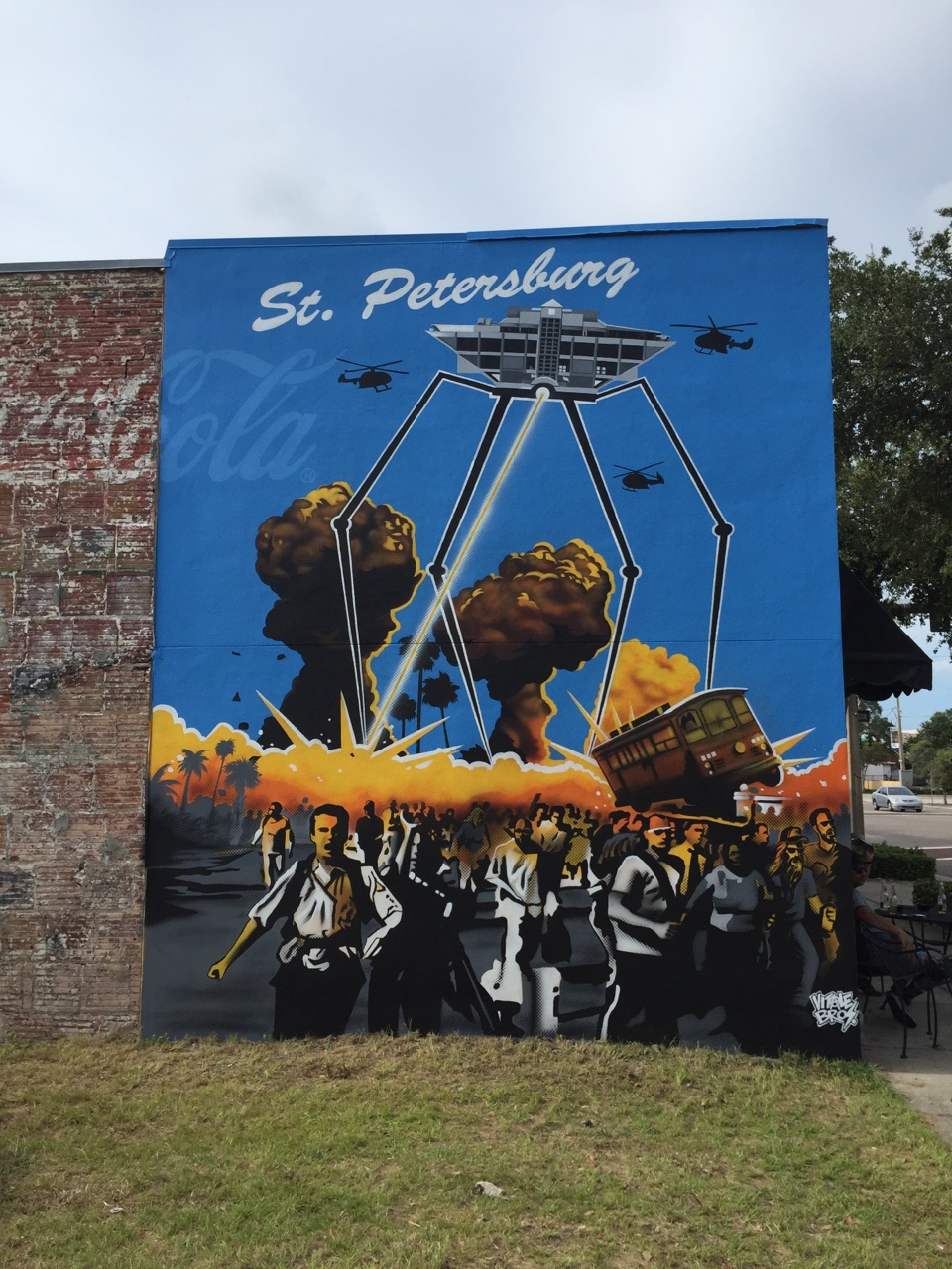 Way Brothers Ford >> Celebrate SHINE St. Pete Mural Festival 2015 | St. Pete ...