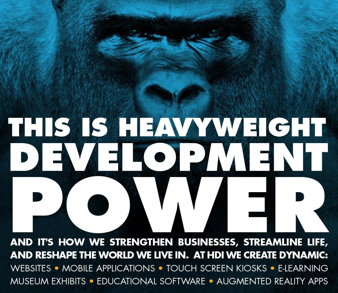 HD Interactive Gorilla ad